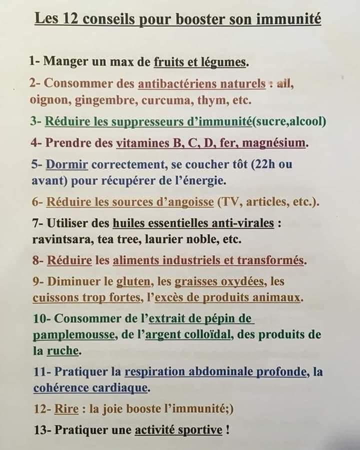 les-12-conseils-pour-booster-son-immunite